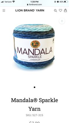 Lion Brand Yarn, Coffee Cans