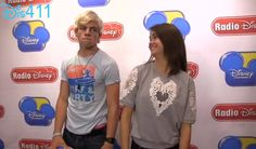 Ross Lynch And Maia Mitchell Beach Fun With Jake Whetter Of Radio Disney