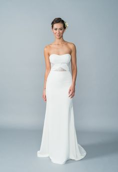 Holly by Lis Simon | Available at Pearl Bridal House