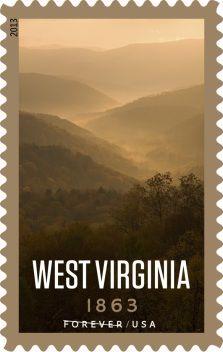 West Virginia postage stamp