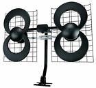 ClearStream 4 Indoor/Outdoor HDTV Antenna with Mount - 70 Mile Range Diy Tv Antenna, Indoor Digital Tv Antenna, Outdoor Hdtv Antenna, Satellite Dish, Mounted Tv, Quad, Indoor Outdoor, Range, Audio