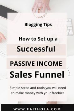 You need a passive income sales funnel but don't know hoe? Building your first sales funnel isn't as hard as it sounds. T| Maddy Osman, aka The Blogsmith, shares lessons learned about freelancing, WordPress plugins for bloggers, SEO writing and top digital marketing ideas. You can find her latest knowledge drop to help you grow to a six-figure business at www.the- blogsmith.com/blog
