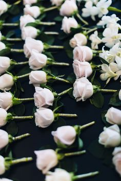 Gorgeous buttonholes for family and friends. #HoiAnEventsWeddings #VietnamBeachWeddings