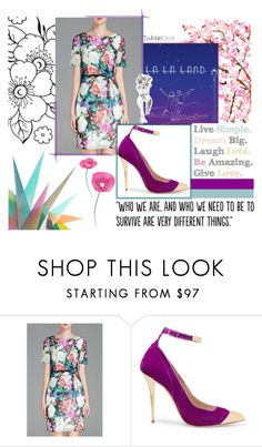 """""""#Simple"""" by juromi ❤ liked on Polyvore featuring Balmain, Krystal, Populaire, trend, women, powerful and twinkledeals"""