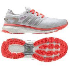 Tênis Adidas Women s Energy Boost Shoes White Metalsilver  Tenis  Adidas Tenis  Importados b5dd4b2072ac6