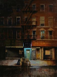 Kim COGAN: Entrance, 2012  oil on canvas  Gallery Henoch
