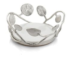 Shop Botanical Leaf Wine Coaster from Michael Aram at Neiman Marcus Last Call, where you'll save as much as on designer fashions. Best Gift For Bride, Bride Gifts, Creative Background, Wine Coaster, Towel Wrap, Wine Collection, Lifestyle Store, Silver Gifts, Gifts For Friends