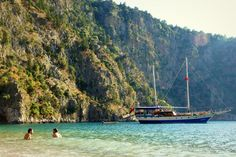 Blue Cruise - Butterfly Valley #Turkey #travel