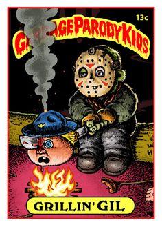 Garbage Pail Parody Kids Card