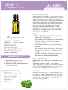 Bergamot Essential Oil Uses