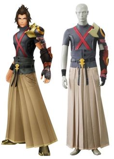 Kingdom Hearts Tara Gray And Coffee Uniform Cloth Leather Cosplay Costume on sale, a perfect Cosplay Costumes with high quality and nice design. Buy it now or discover your Cosplay Costumes http://goo.gl/zz6Cd