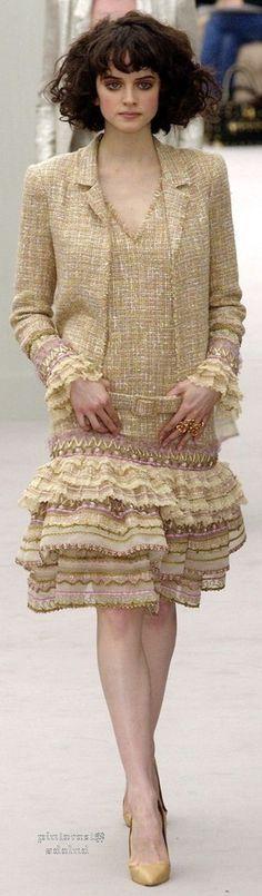 Chanel ruffles