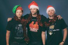 Misha, Jared and Jensen