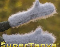 Made to order hand knitted thick and fuzzy mohair by supertanya