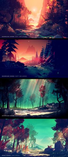 667 best art images in 2019 character design drawings - 2d nature wallpapers ...