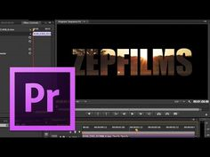 zepfilms tutoriales premier at DuckDuckGo Adobe Premiere Pro, Stop Motion Photography, Film Photography, Adobe After Effects Tutorials, Vfx Tutorial, Film Tips, Le Web, Video Film, Photoshop Design