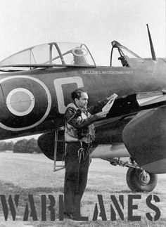 Plt Offr Dattatreya Samant from India with Bellows Argentina no. Ww2 Aircraft, Military Aircraft, Westland Whirlwind, Old Planes, Ww2 Pictures, Supermarine Spitfire, Royal Air Force, Luftwaffe, Wwii