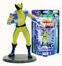 "Marvel Miniature Alliance 2.75"" PVC Figurine - Wolverine (Individually packaged on Blister Card) by Monogram International. Save 50 Off!. $5.01. Good size to use as cake toppers, or party favors. packaged in blister card package - good as a  display option. Colorful characters on base. Convenient 2.75"" Size - play size. From the Manufacturer                Monogram proudly presents ""All New"" Marvel Miniature Alliance series figurines - First Series of Miniature Alliance 2.75"" PVC Figu..."
