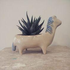 Horse pot #ceramic #modelage #sculpture #poterie #clay #pot #horse #pony #poney