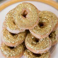 Glitter donuts,