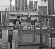 Master Craftsman David Marks at work David Marks, Fine Woodworking, Craftsman, Artisan, Cabinet Making
