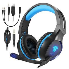 Noise Cancelling PC 3.5mm Headsets Stereo Gaming For PS4 Xbox One Controller