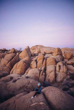 Sunrise at Jumbo Rocks Joshua Tree National Park