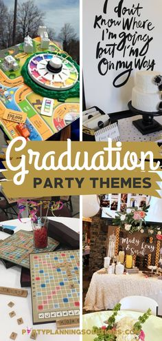 Are you feeling the stress of planning a graduation party for your child or loved one? Do you want it to be the best party ever, but aren't sure where to start? If that's the case, then we have great news for you! PIN NOW for over 40 Awesome Graduation Party Themes #graduationpartyideas #graduationparty #partyideas #partyplanning #partythemes #gradparty