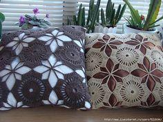 ergahandmade: Crochet Pillow + Diagram