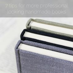 The Internet is full of different types of bookbinding tutorials - some more detailed than others, some written by bookbinders and some by enthusiastic hobbyist. What they usually have in common that they still focus on giving out instructions for one specific project. Today I hope to give you a...