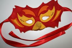 Phoenix mask pattern and tutorial from I could make that