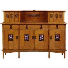 Glasgow Arts & Crafts Sideboard E.A. Taylor for Wylie & Lochhead