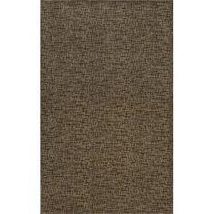 Mercury Row Attalus Brown Indoor/Outdoor Area Rug Rug Size: 5' x 8'