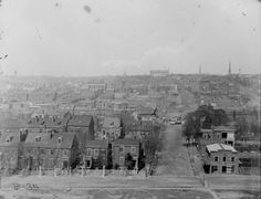 Richmond in 1862, before it was ravaged by the war.