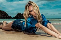 Candice Swanepoel and Marlon Teixeira for Osmoze Jeans