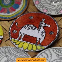 34 Trendy garden art painting artworks - All For Garden Madhubani Art, Madhubani Painting, Pop Art For Kids, Diy For Kids, Diy Dog Gate, Ac2, Indian Folk Art, Garden Art, Garden Ideas