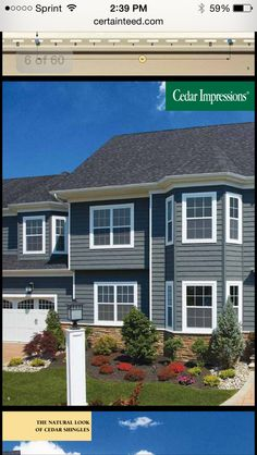 Certainteed Siding Cedar Boards Siding Certainteed