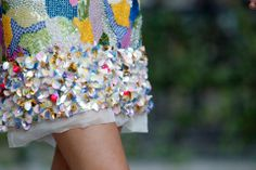 For the Makers / High Gloss  Inspiration / DELPOZO S/S 2013   Flower Details