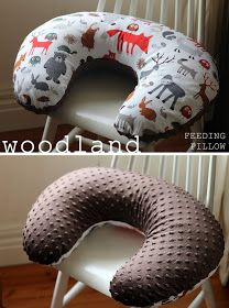 Boppy breastfeeding pillow. Free PDF pattern! Make sure to make the pillow, and then a couple covers to change as needed.