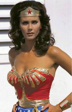 "Lynda Carter. ""Wonder Woman""."