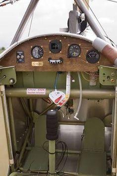 focker eindecker cockpit - Google Search