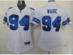 http://www.nikejordanclub.com/nike-women-nfl-jerseys-dallas-cowboys-94-ware-white-wxjns.html NIKE WOMEN NFL JERSEYS DALLAS COWBOYS #94 WARE WHITE WXJNS Only $23.00 , Free Shipping!