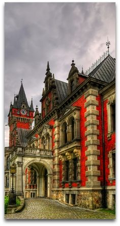 Castle in Plawniowice, Poland   - Explore the World with Travel Nerd Nici, one Country at a Time. http://TravelNerdNici.com