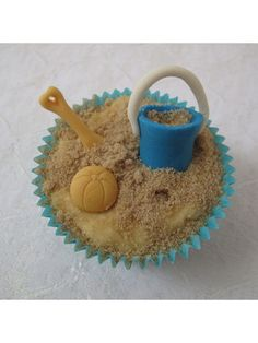 seaside cup cake