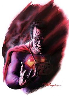 12 Incredible Artworks of Superman Villains