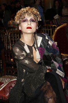 Roberto Cavalli Spring 2017 Ready-to-Wear Front Row Celebrity Photos - Vogue