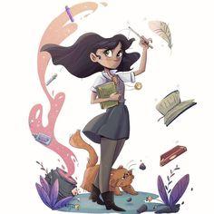 Hermione Granger by Giully Leão Sketch Blog