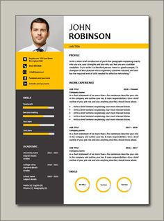 Immediately download this Free CV template. This example is in Microsoft Word (DOC) format, easy to edit, printable and can be fully customised. Ideal for any job application. #CV #template #Resume #Free #Job #application #MS #Word #Download #Professional #Example Resume Writer, Resume Cv, Resume Tips, Modern Cv Template, Cv Resume Template, Cv Templates Free Download, Professional Cv, Any Job, Job Title