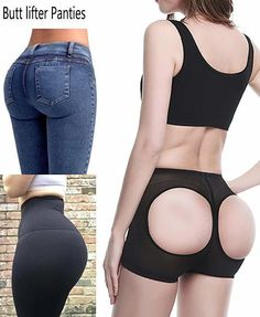 Firm Control Bum Lift and Tummy Tuck Girdle Black or White