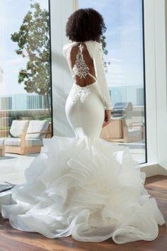 Dream Wedding Dresses, Bridal Dresses, Bridesmaid Dresses, Elegant Ball Gowns, Elegant Wedding Gowns, Bride Gowns, Satin Wedding Gowns, Black Bride, Prom Dresses Online